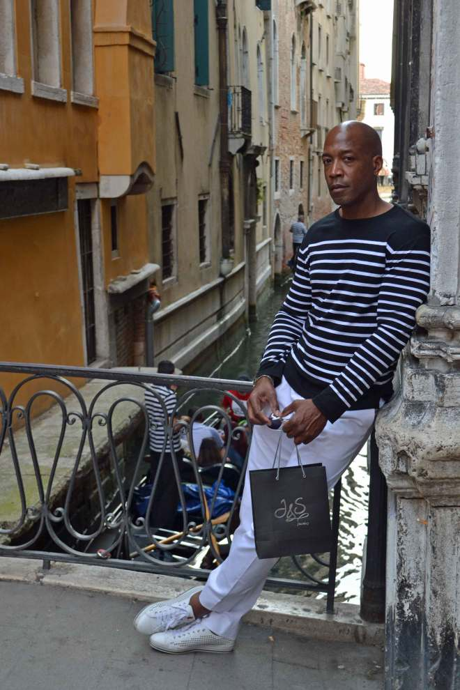 Venice after shopping