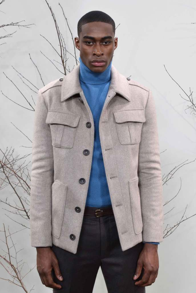 Signature jacket from Brett Johnson A/W 2016 Collection