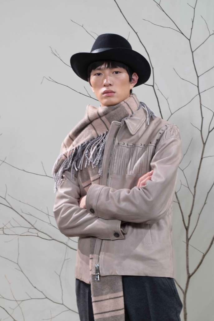 The western influence in the Brett Johnson A/W 2016 collection