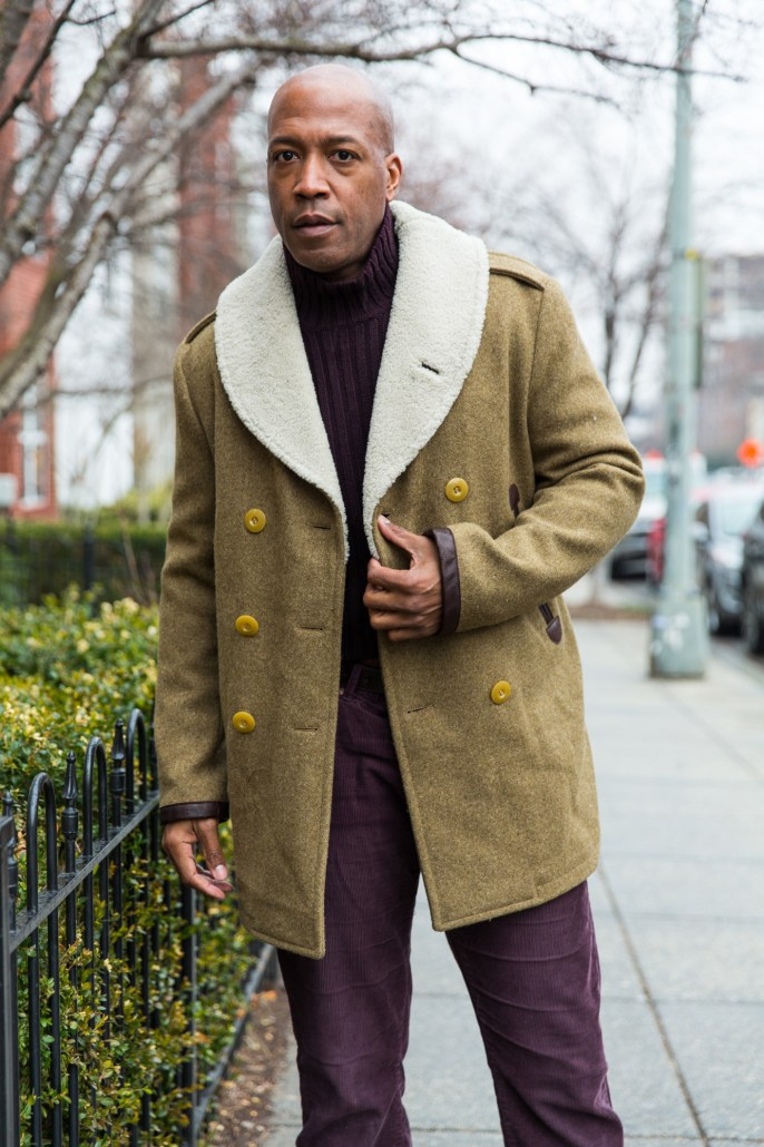 DCFashion Fool in the Gant Spectator coat