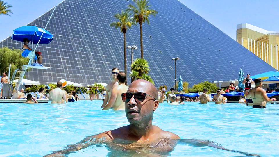 Getaway to Las Vegas - pool