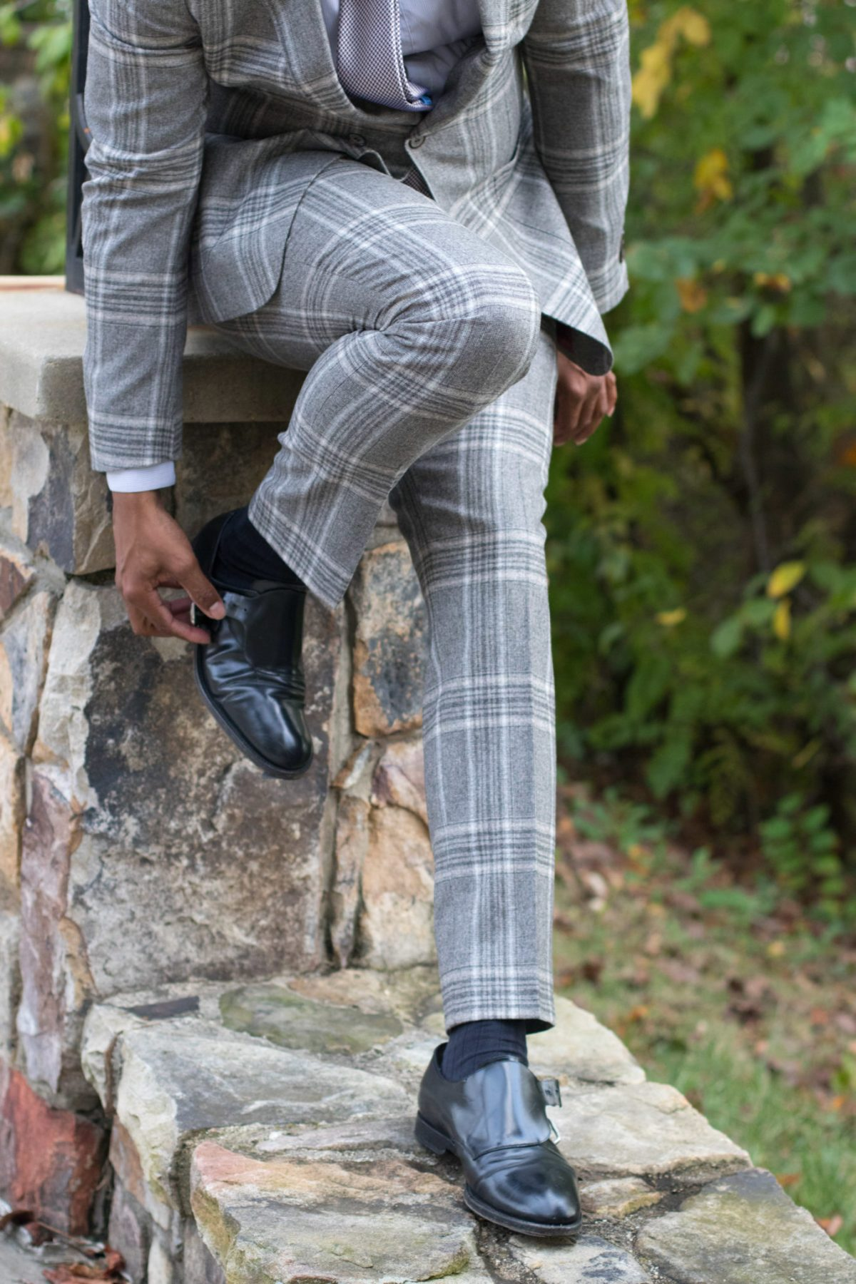 Dressing in a Plaid suit