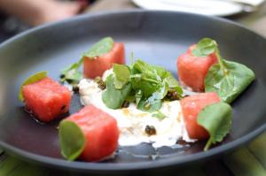 White Balsamic Watermelon - Brunch in the Yard