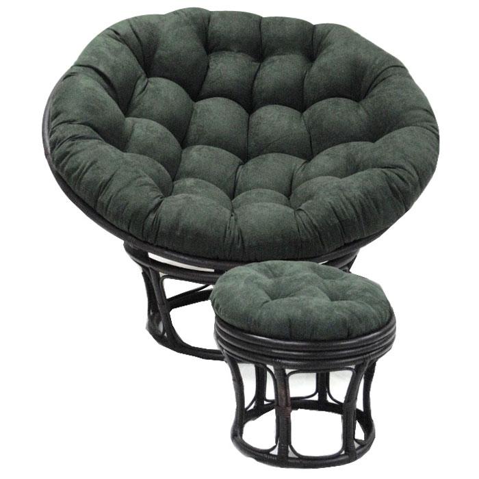 52 Inch Microsuede Tufted Papasan Cushion Dcg Stores