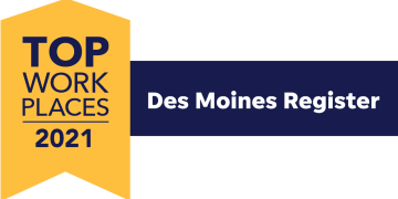DCHC Named an Iowa Top Workplace 2021