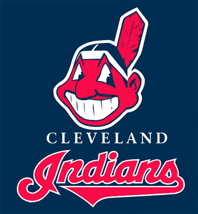 Cleveland Indians logo, featuring Chief Wahoo