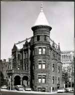 The Christian Heurich House at 1307 New Hampshire Ave NW was the Society's headquarters for nearly 50 years.