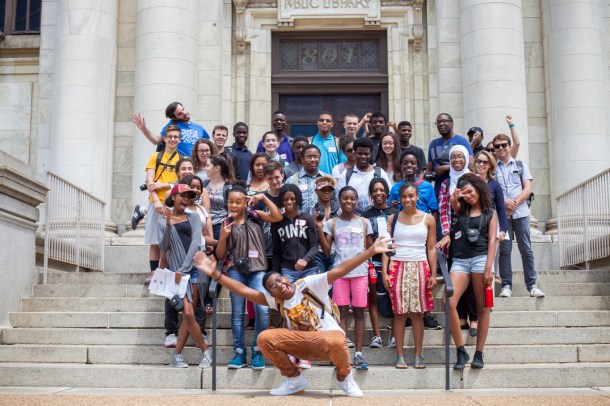 For the third year running, the Historical Society collaborated with the National Building Museum's Investigating Where We Live program. The IWWL exhibit  at the NBM opens July 24th.