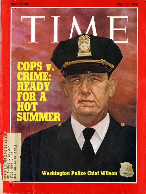 Time magazine cover, 1970