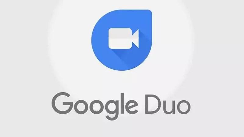 Imagem mostra o logotipo do GoogleDuo