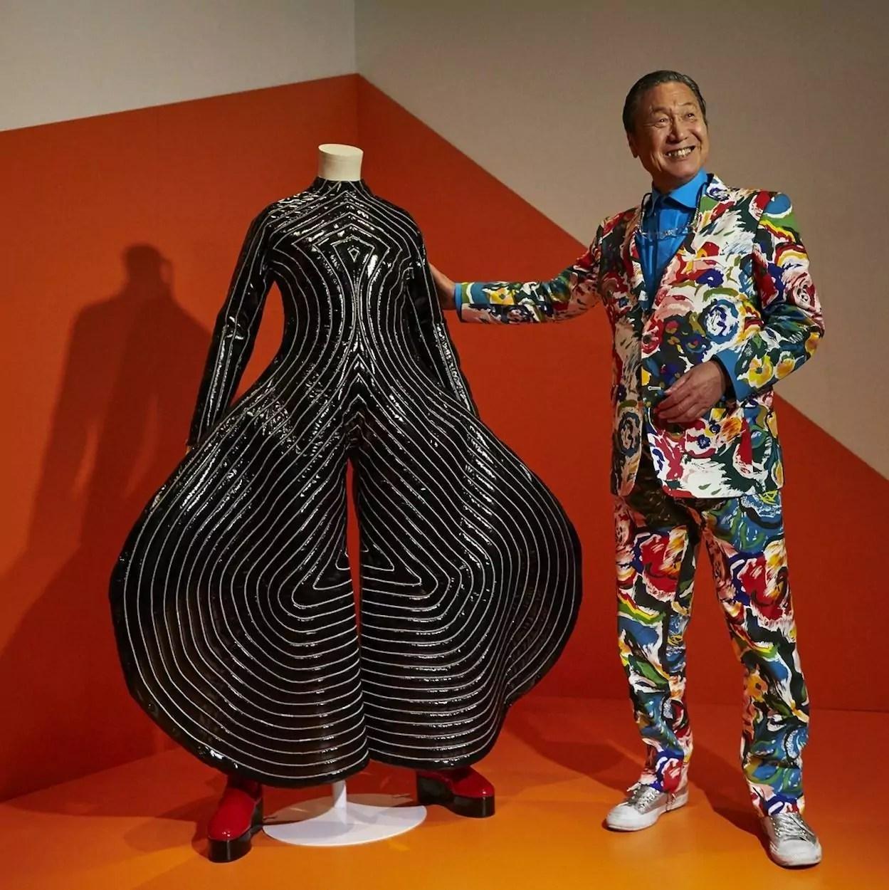 estilista Kansai Yamamoto