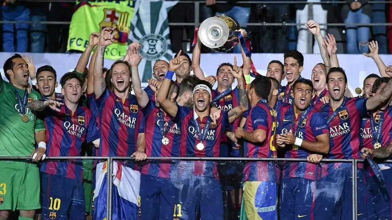 Barcelona campeão da Champions em 2015