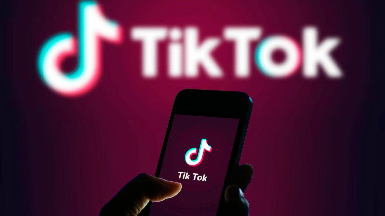 Imagem mostra app Tik Tok