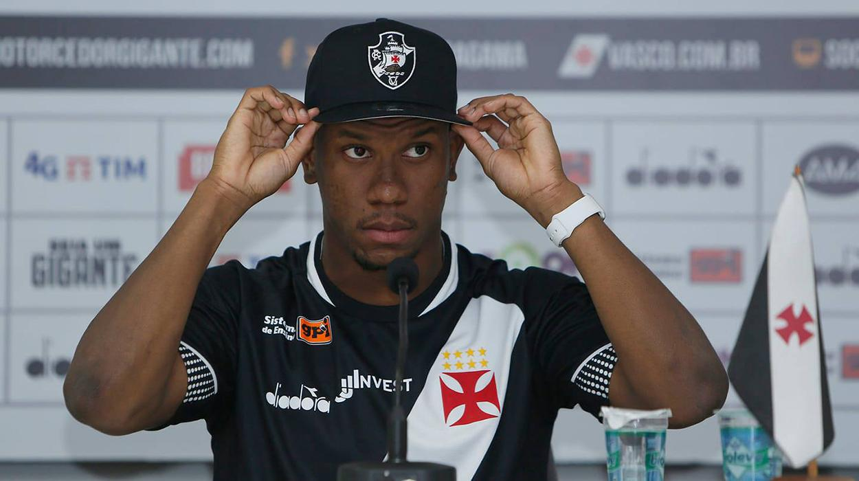 Hoje tem gol do Ribamar?Atacante vive boa fase no Vasco