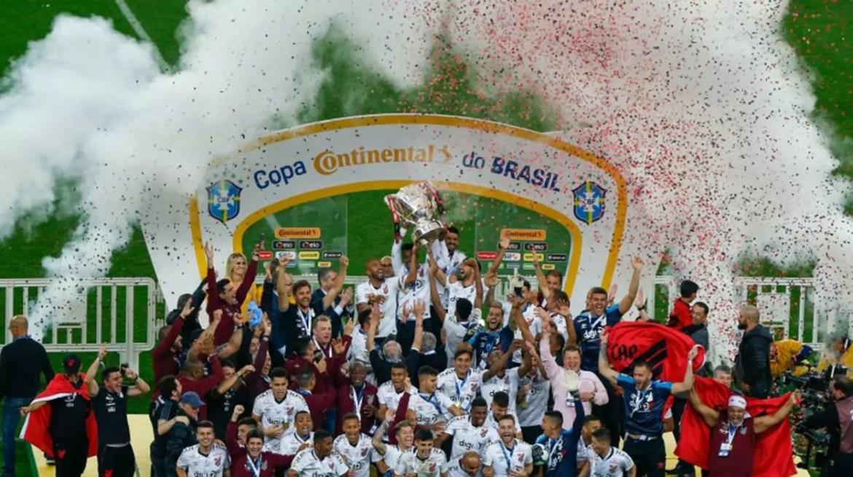 Athletico-PR é o atual campeão da Copa do Brasil