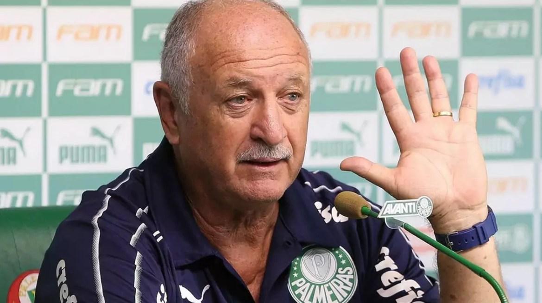 Felipão é cotado para ser o novo técnico do Corinthians