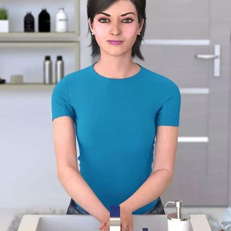 Lu da Magalu, influenciadora Virtual 3D