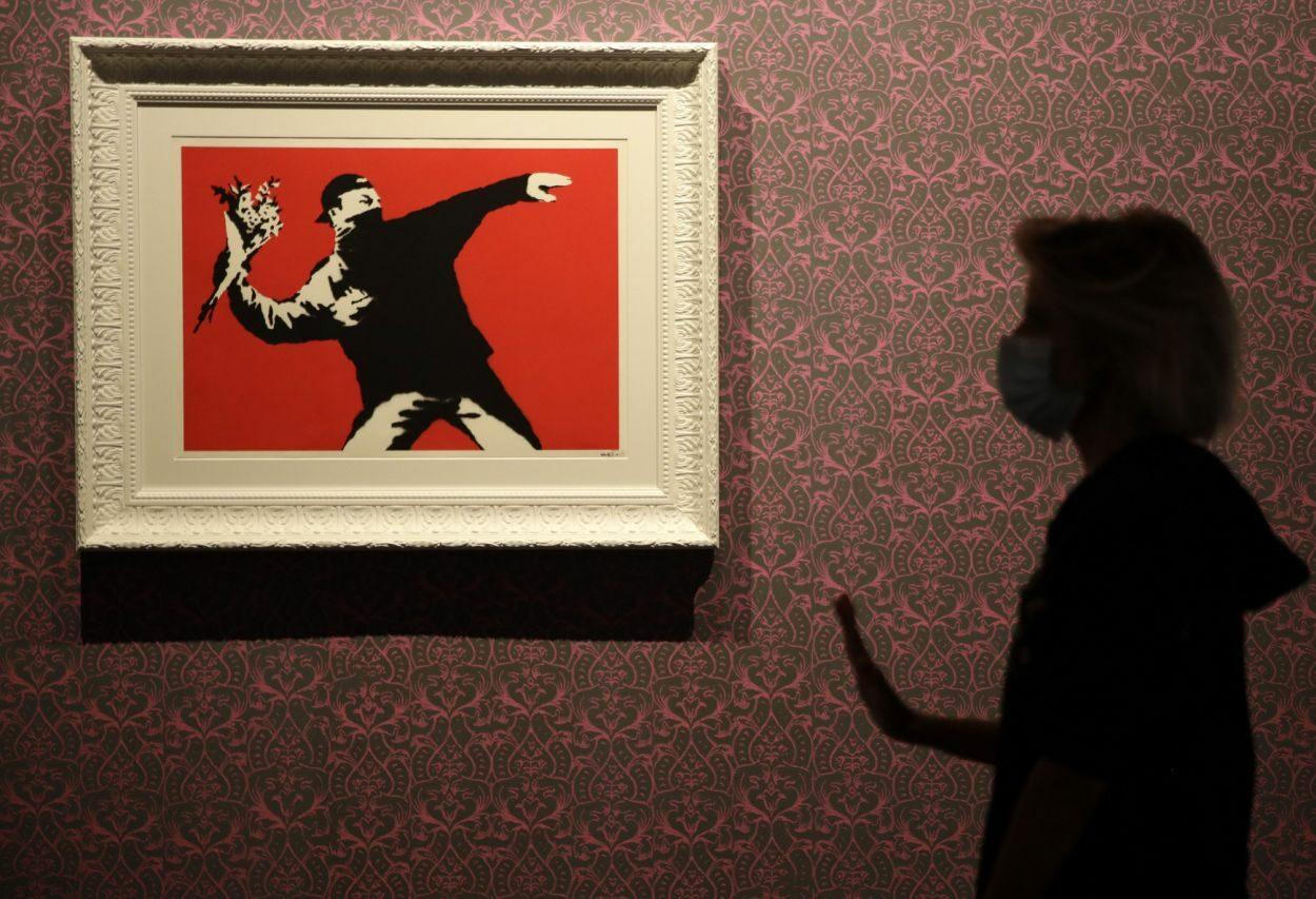 Banksy perde a marca registrada