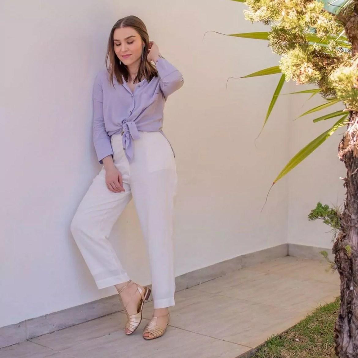 calça e blusa