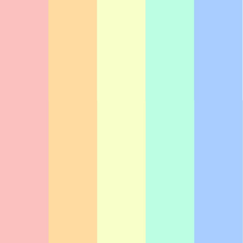 paleta candy colors