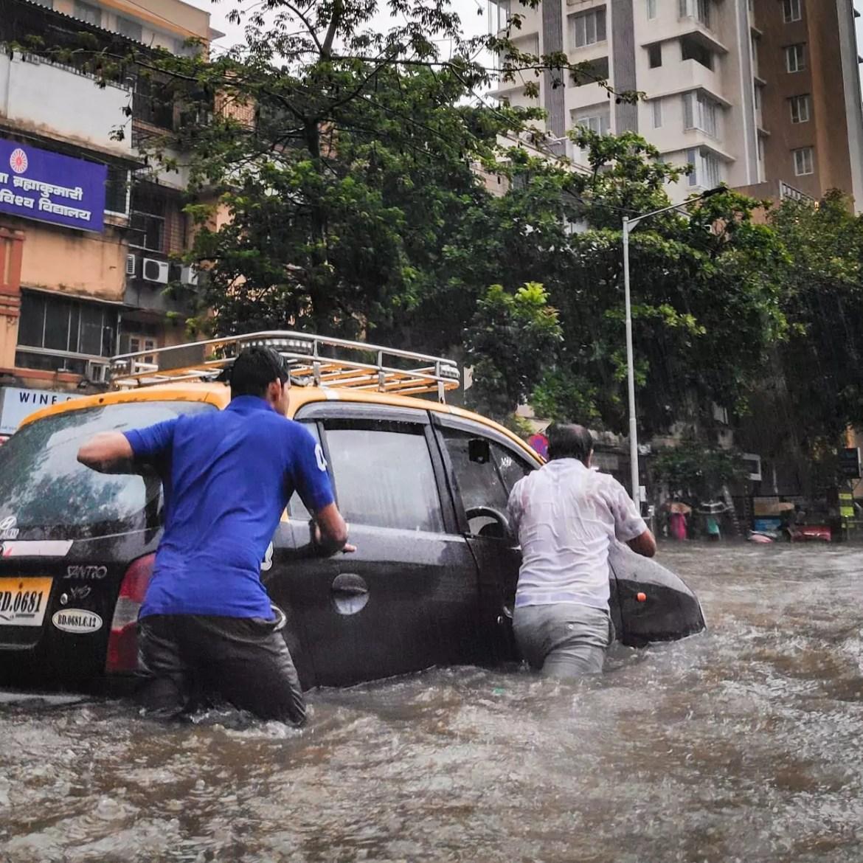 Enchentes na Ásia