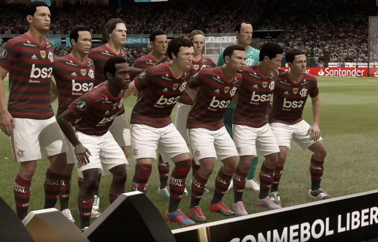 Flamengo é um dos times brasileiros no FIFA 21