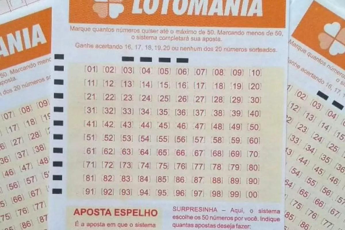 Lotomania concurso 2117 - Volantes da Lotomania espalhados- resultado da Lotomania