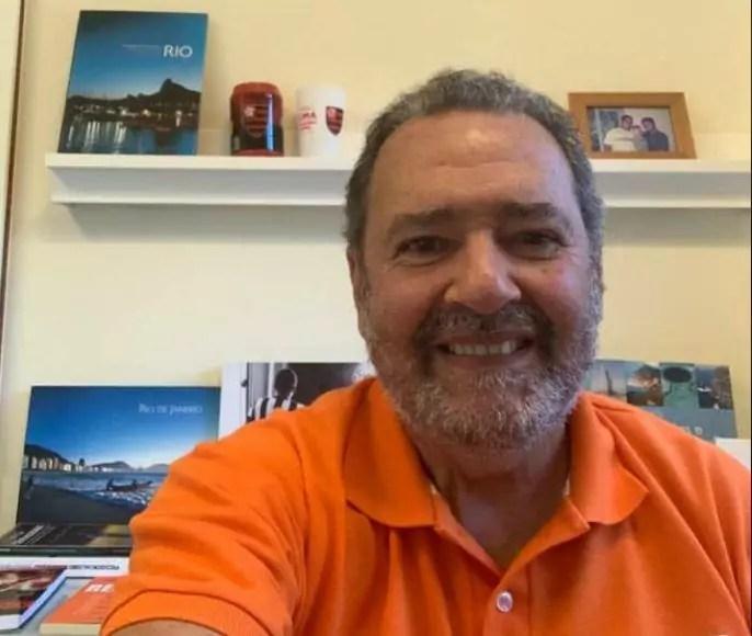 Foto mostra Fred Luz, candidato à prefeitura do Rio de Janeiro