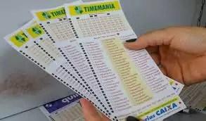 Timemania concurso 1527