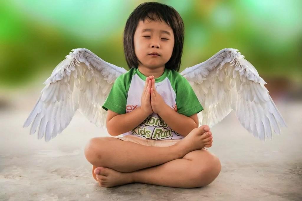 Criança - yoga