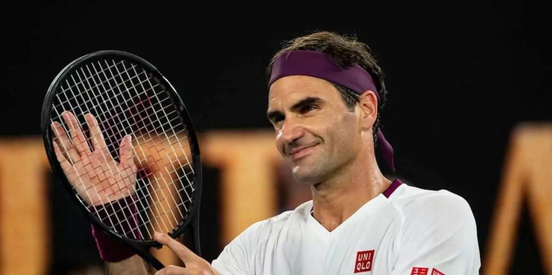 Roger Federer, tenista, atleta com maior salário do mundo