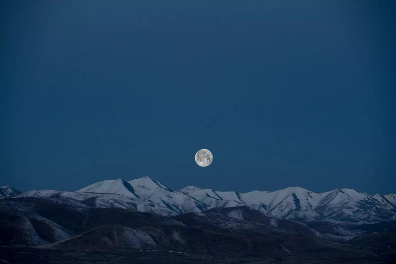lua azul de outubro