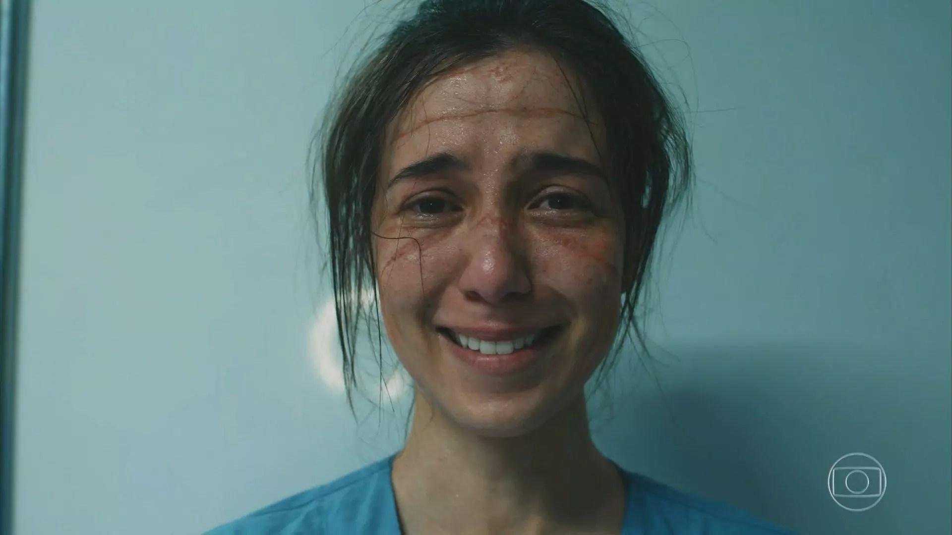 Marjorie Estiano é a protagonista da série 'Sob Pressão', que estreou nova temporada ontem, na TV Globo. Foto: reprodução