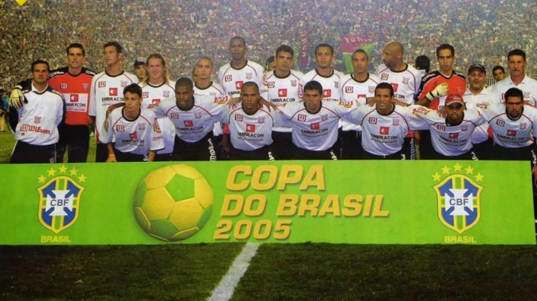 Título da Copa do Brasil em 2005 é um dos grandes feitos de Mancini como técnico