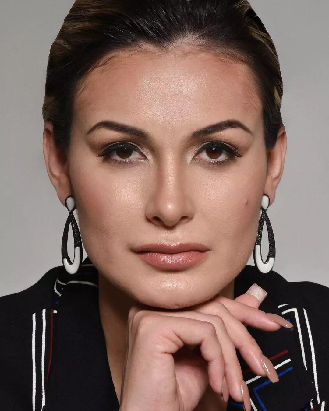 Imagem mostra rosto de Andressa Urach