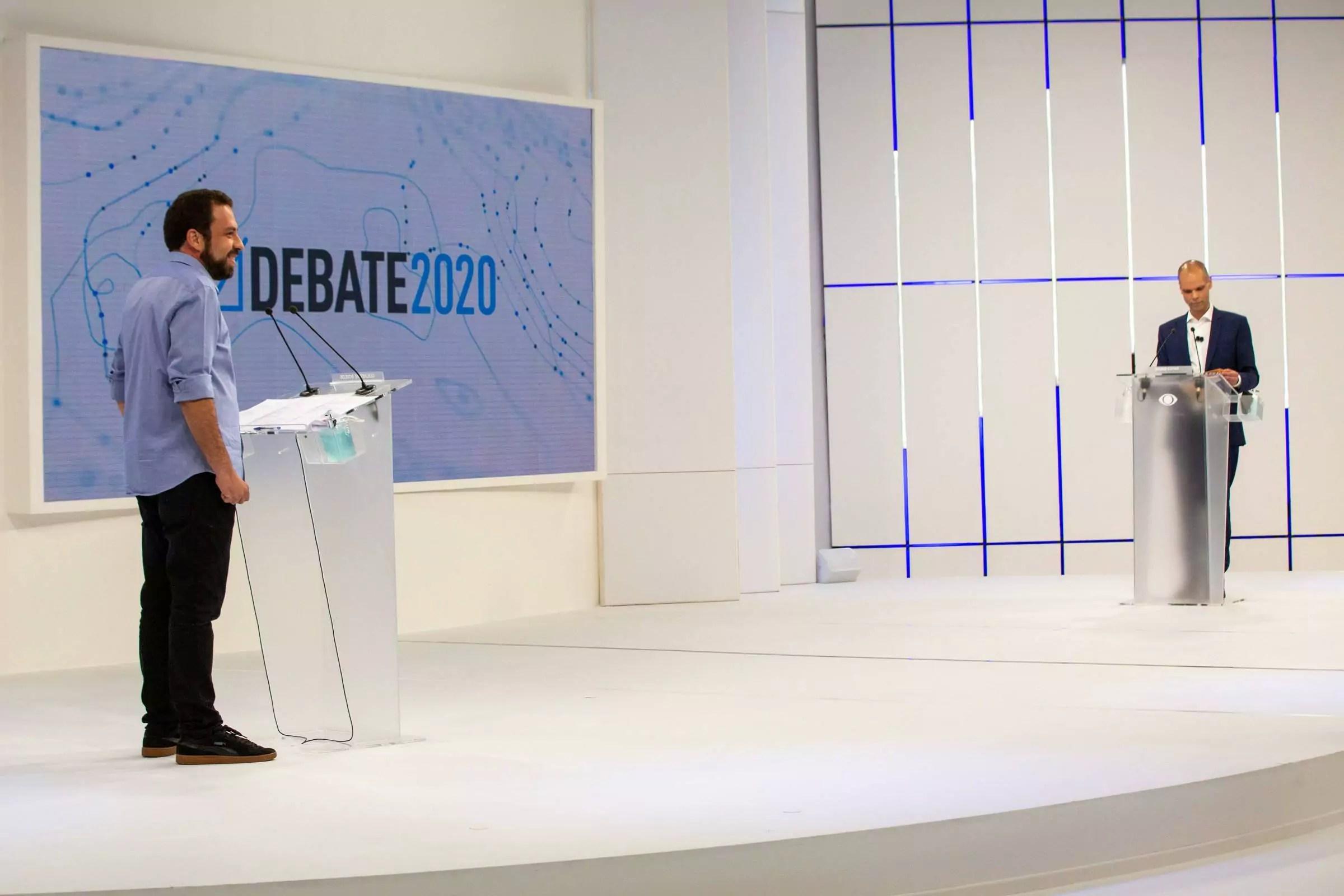 Eleições 2020 - o que Covas e Boulos pensam sobre a Covid-19