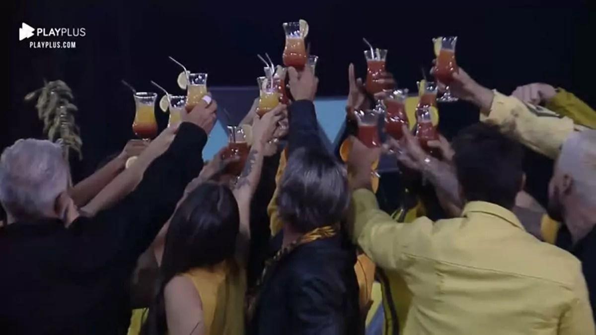 Festa em A Fazenda 2020