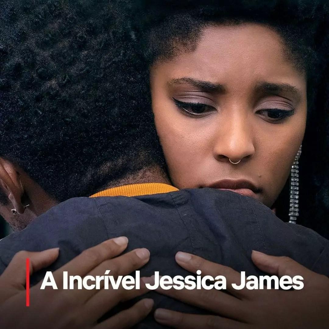 A imagem mostra uma visão incrível de Jessica James