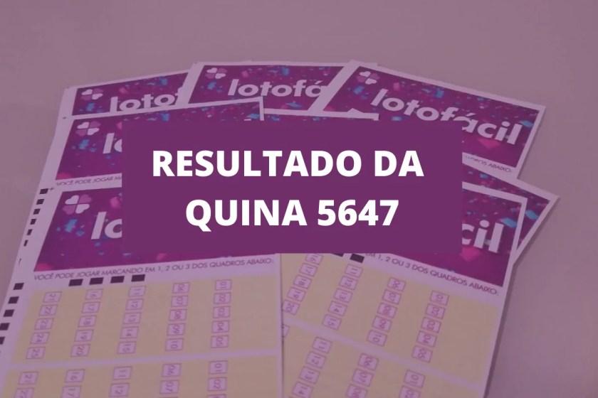 Quina 5647 Result