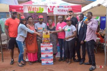WatsUp TV Screens Nungua Market Women 2 - WatsUp TV Screens Nungua Market Women Ahead Of 3rd Anniversary.