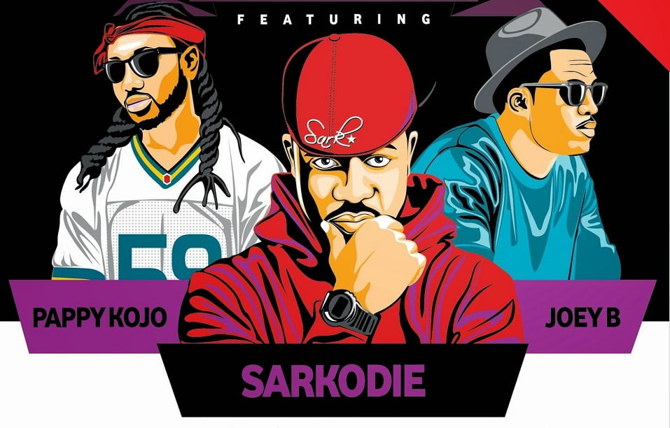 Joey B & Pappy Kojo Ft. Sarkodie - New Lords (Prod. by Magnom)