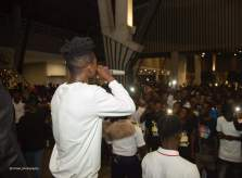 7 - Sarkodie, Akwaboah and thousands of Music Fans at Strongman's STN EP