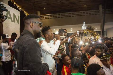 STN EL launch - Sarkodie, Akwaboah and thousands of Music Fans at Strongman's STN EP