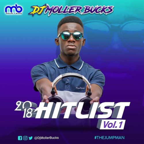 0c8b804a 01b7 4e73 8b4d f02f8fdb5397 500x500 - DJ Moller Bucks - 2018 Hitlist (Volume 1)
