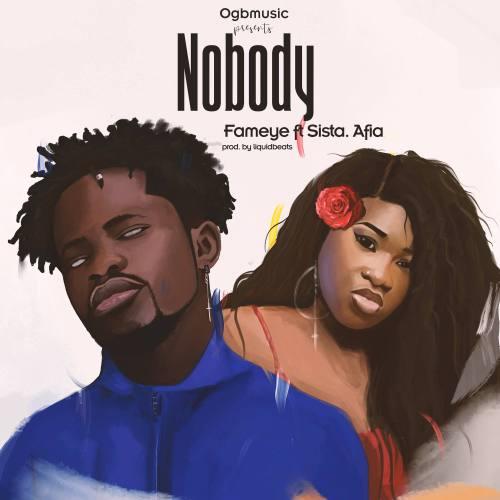 Fameye ft. Sista Afia 500x500 - Fameye feat. Sista Afia - Nobody (Prod. by LiquidBeatz)