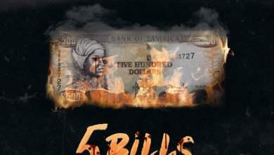 Photo of Popcaan – 5 Bills (Prod. By TJ Records)