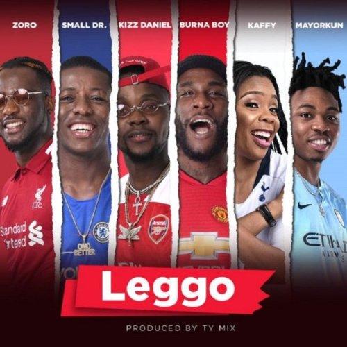 BurnaBoy LEggo arrt 500x500 - Burna Boy ft. Kizz Daniel, Mayorkun & Kaffy - Leggo
