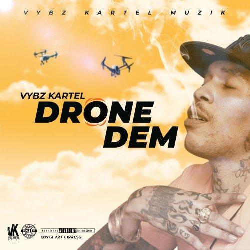 vybz drone cover 500x500 - Vybz Kartel - Drone Dem