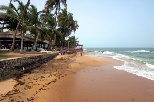 Coconut Groove Hotel 500x333 - Comprehensive List of Ghana's Most Beautiful Beaches