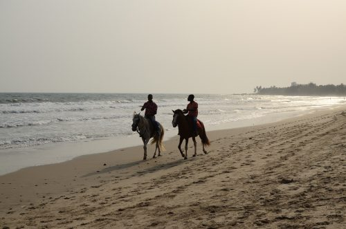 Kokrobite Beach 500x331 - Comprehensive List of Ghana's Most Beautiful Beaches